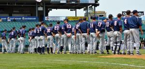 Image of a baseball lineup