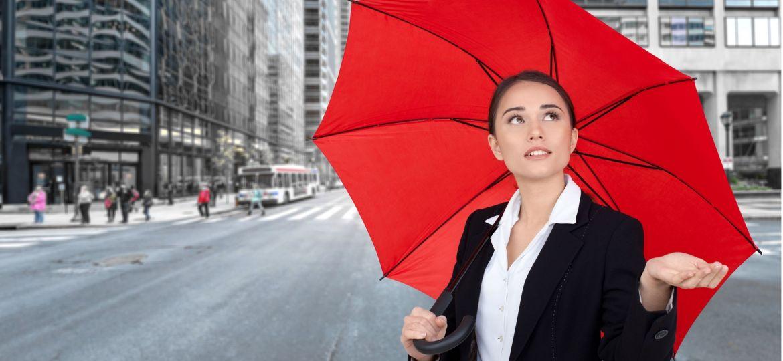 Umbrella,,Women,,Business.